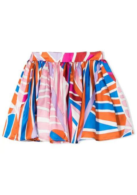 FLARED SKIRT WITH PRINT EMILIO PUCCI | Skirt | 9O7050 OC380407AZ