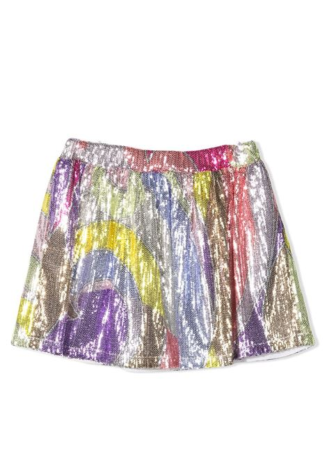 SKIRT WITH SEQUINS EMILIO PUCCI | Skirt | 9O7060 OC430T204VI