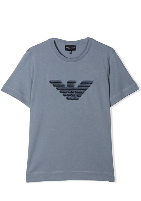 T-SHIRT CON STAMPA EMPORIO ARMANI KIDS | T-shirt | 3K4TC3 1JUCZ0668