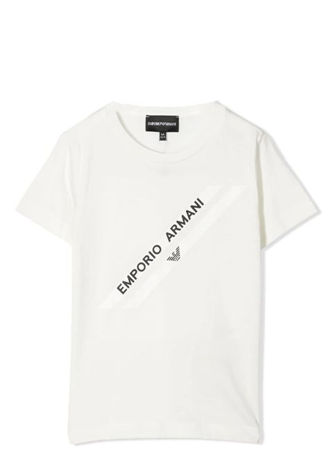 PRINT T-SHIRT EMPORIO ARMANI KIDS   T-shirt   3K4TF4 1JSHZ0101
