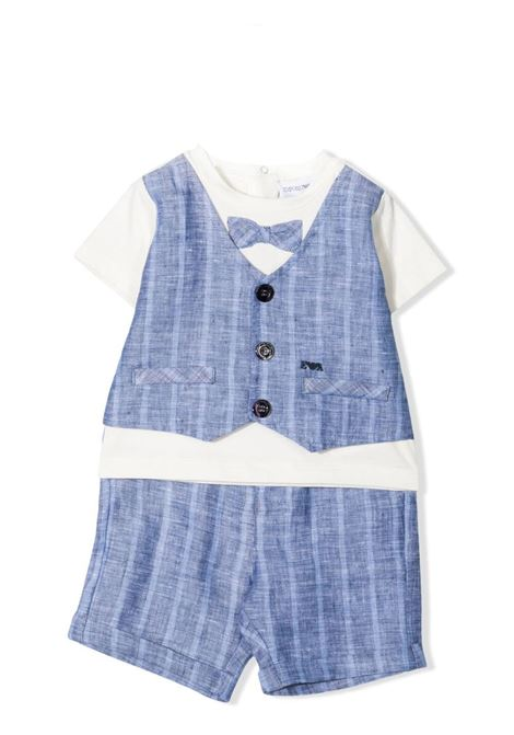 COMPLETE WITH PINSTRIPE EMPORIO ARMANI KIDS | Suits | 3KH802 4N50ZF908