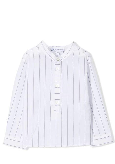 STRIPED SHIRT EMPORIO ARMANI KIDS | Shirt | 3KHCJ3 4N55ZF104