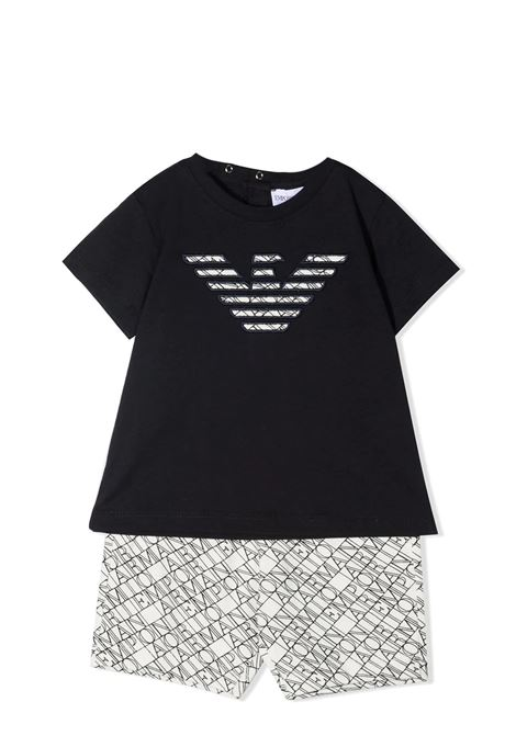 COMPLETE T-SHIRT AND SHORTS EMPORIO ARMANI KIDS | Set | 3KHV05 4J4CZF109
