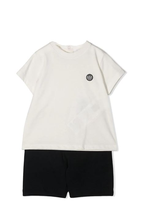 SET T-SHIRT E SHORTS EMPORIO ARMANI KIDS | Set | 3KHV06 4J4JZ0101