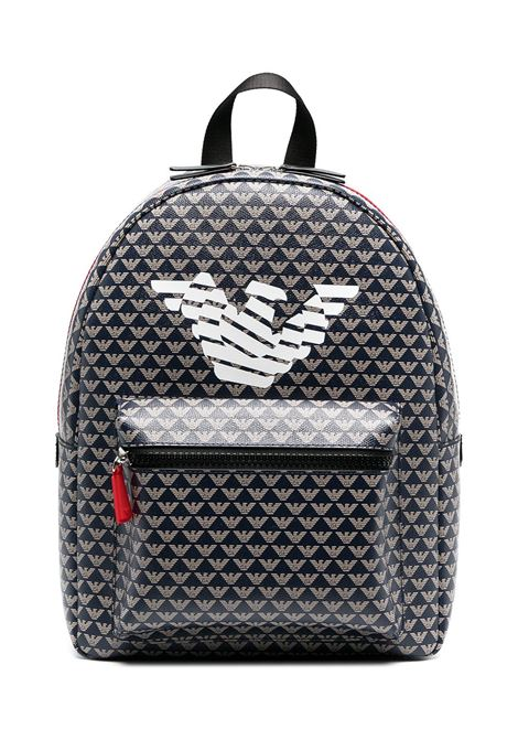 BACKPACK WITH PRINT EMPORIO ARMANI KIDS | Backpack | 402525 1P59912736