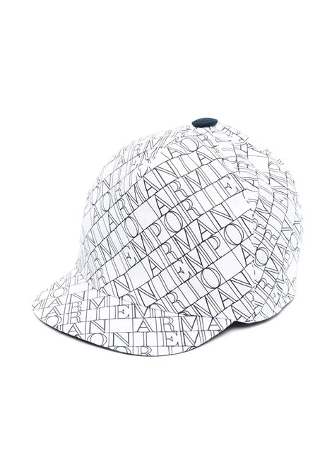 BASEBALL HAT WITH PRINT EMPORIO ARMANI KIDS | Hats | 404393 1P44841510