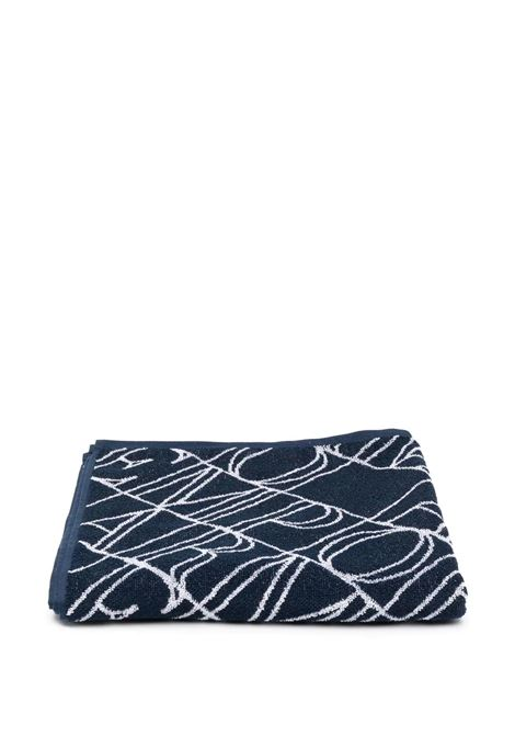 BEACH TOWEL WITH PRINT EMPORIO ARMANI KIDS | Beach towel | 408509 1P21977435