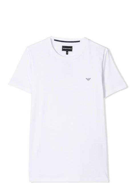 LOGO T-SHIRT EMPORIO ARMANI KIDS   T-shirt   8N4TJC 4JFEZ0100