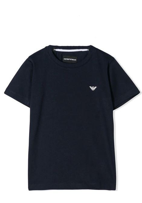 EMPORIO ARMANI KIDS   T-shirt   8N4TJC 4JFEZ0933