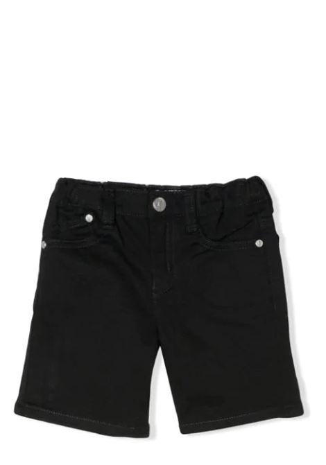 BLUE BERMUDA EMPORIO ARMANI KIDS | Trousers | 8NHJ02 4NFUZ0922