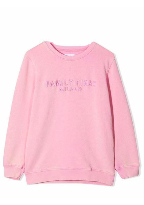 Crewneck sweatshirt with embroidery FAMILY FIRST KIDS | KSS2105PK03