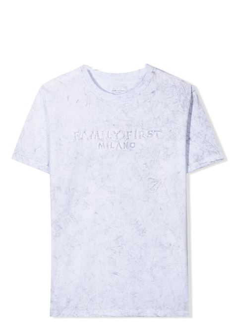 T-shirt con ricamo FAMILY FIRST KIDS | KTS2105WH01