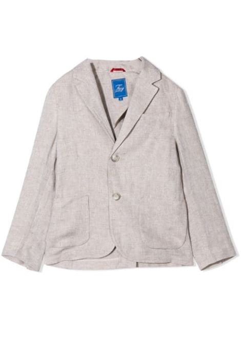 BLAZER WITH LINEN BUTTONS FAY KIDS | Jackets | 5M2024 MC650112