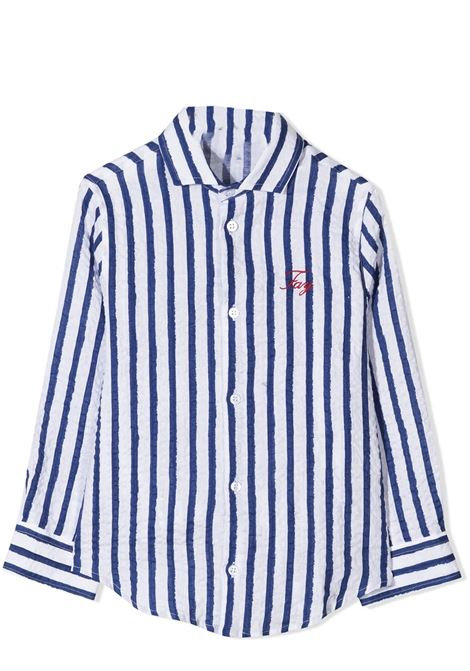 STRIPED SHIRT FAY KIDS | Shirt | 5O5070 OB320T100BL