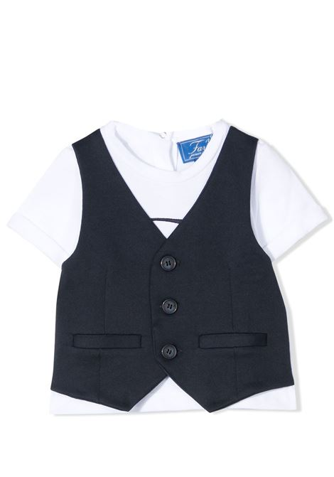 T-SHIRT WITH VEST FAY KIDS | T-shirt | 5O8351 OX260100BL