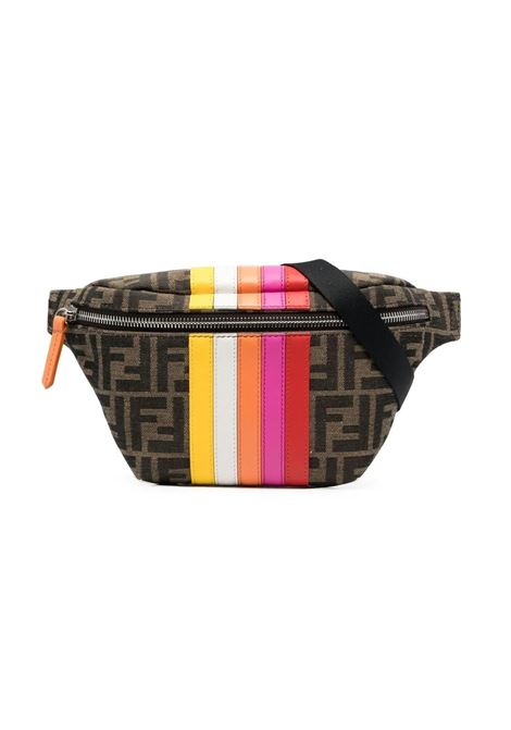 BELT BAG WITH FF MOTIF FENDI KIDS | Pouch | 7VB011 AE5GF1CUD