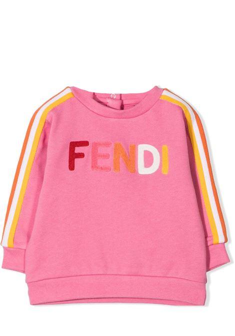 SWEATSHIRT WITH LOGO FENDI KIDS | Sweatshirts | BUH025 5V0F1DER