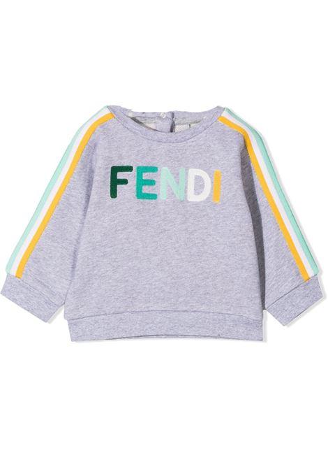 Logo sweatshirt FENDI KIDS | BUH025 5V0F1DEV