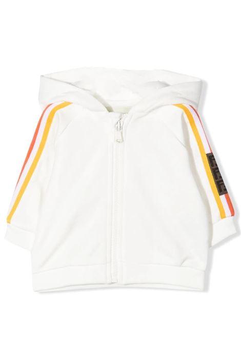 SWEATSHIRT WITH ZIP FENDI KIDS | Sweatshirts | BUH027 5V0F1DEQ
