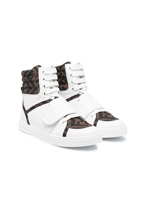 SNEAKERS WITH FF LOGO FENDI KIDS | Sneakers | JMR350 AD7DTF1D0S