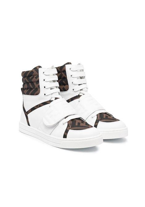 SNEAKERS CON LOGO FF FENDI KIDS | Sneakers | JMR350 AD7DTF1D0S
