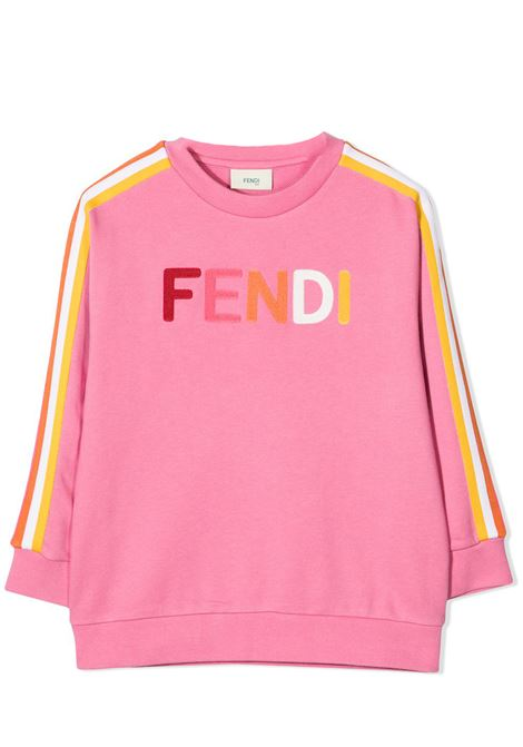 SWEATSHIRT WITH PRINT FENDI KIDS | Sweatshirts | JUH029 5V0F1DER
