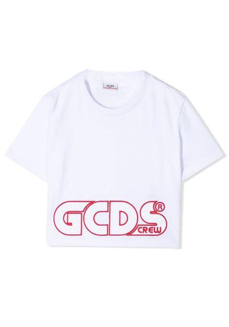 T-SHIRT CON RICAMO GCDS KIDS | T-shirt | 027592001