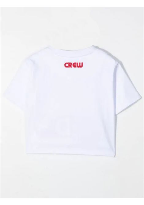 T-SHIRT WITH EMBROIDERY GCDS KIDS | 027592001