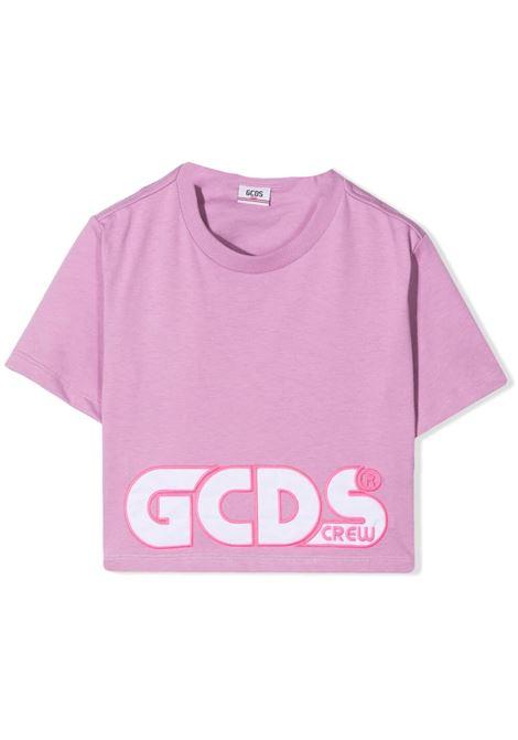 T-SHIRT CON RICAMO GCDS KIDS | T-shirt | 027592071