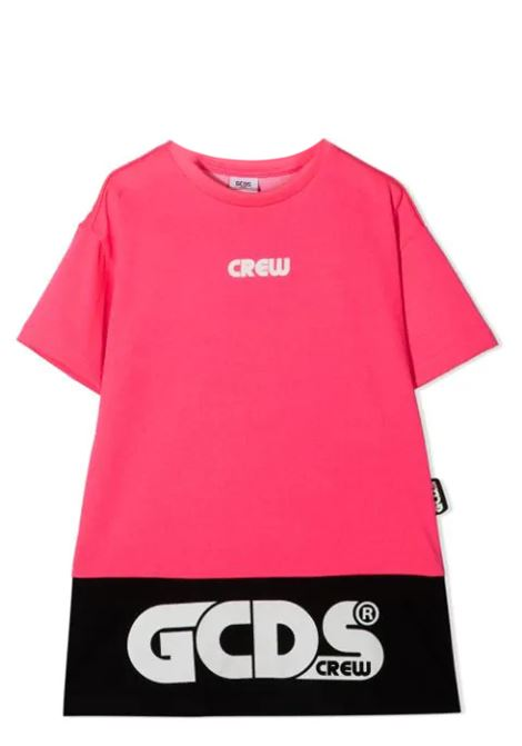 DRESS MODEL T-SHIRT GCDS KIDS | Dress | 027606FLT134