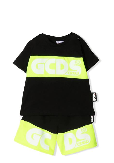 BERMUDA SHORTS AND T-SHIRT SET GCDS KIDS | Suits | 027946110