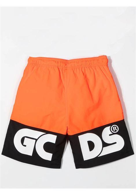 Costume da bagno con stampa bambino GCDS KIDS | 027971T176