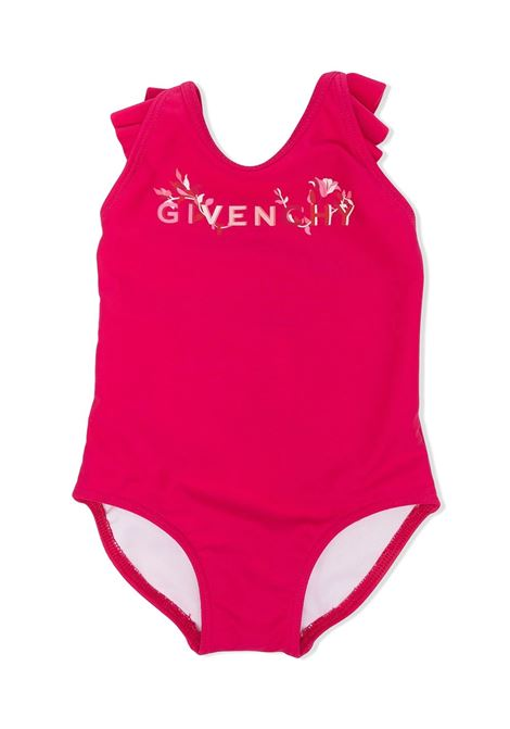 ONE PIECE SWIMSUIT WITH PRINT GIVENCHY KIDS | Swimsuits | H00040483