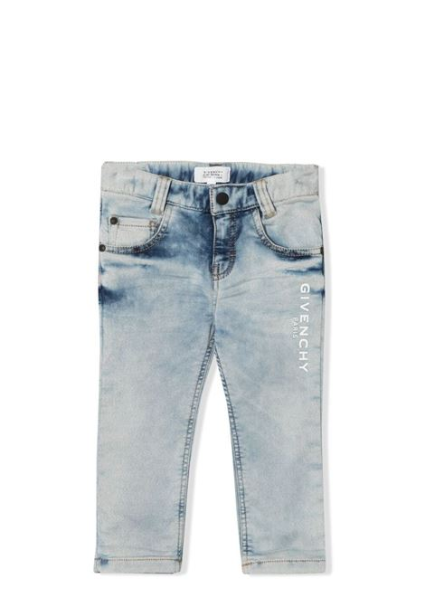 JEANS WITH PRINT GIVENCHY KIDS | Jeans | H04097Z04