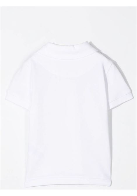 POLO SHIRT WITH BANDS ON THE SLEEVES GIVENCHY KIDS | H0516010B