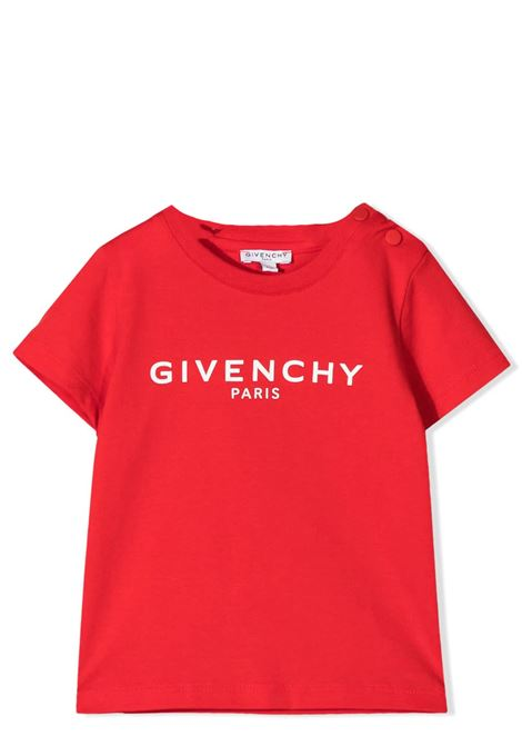 T-SHIRT WITH PRINT GIVENCHY KIDS | T-shirt | H051M16991