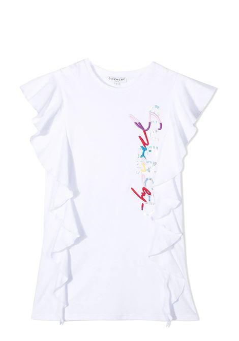 DRESS WITH PRINT GIVENCHY KIDS | Dress | H1216010B