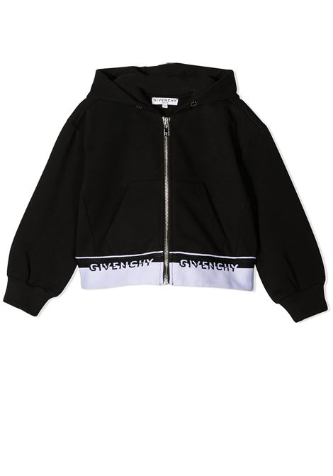 SWEATSHIRT WITH ZIP GIVENCHY KIDS | Cardigans | H1519009B