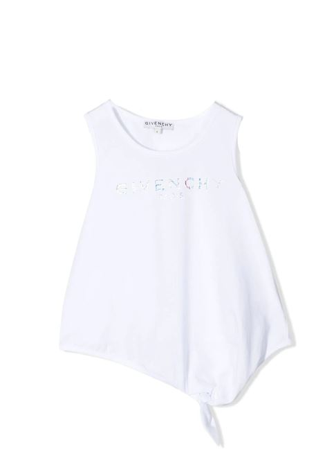 T-SHIRT WITH PRINT GIVENCHY KIDS | H1519810B