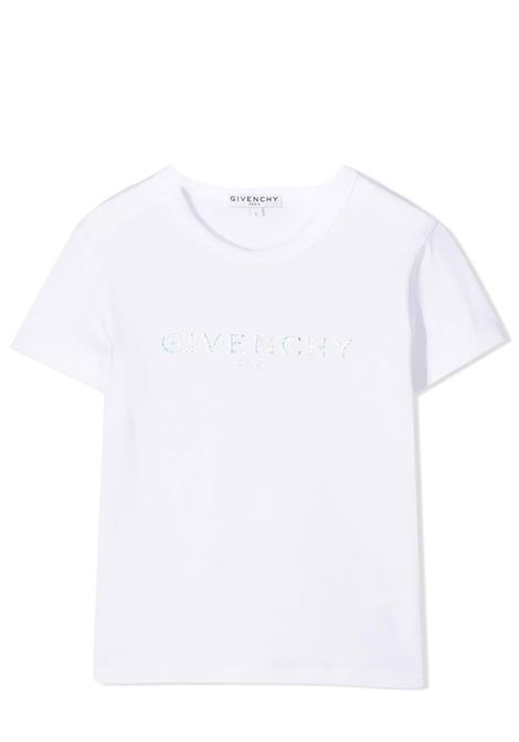 T-SHIRT WITH PRINT GIVENCHY KIDS | T-shirt | H1519910B