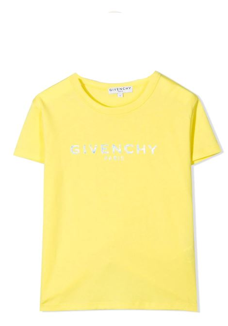 T-SHIRT CON STAMPA GIVENCHY KIDS | T-shirt | H15199508