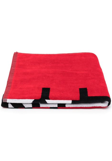 TOWEL WITH PRINT