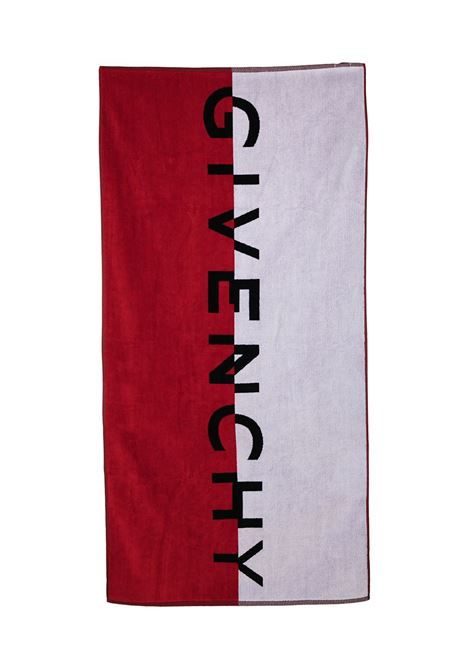 TOWEL WITH PRINT GIVENCHY KIDS | H20042N79