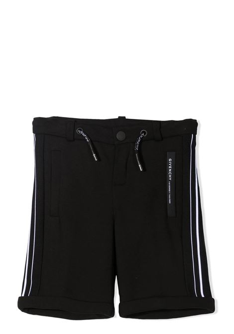 BERMUDA WITH SIDE STRIPES GIVENCHY KIDS | H2411009B
