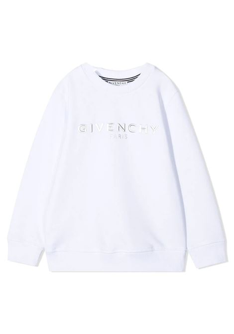 SWEATSHIRT WITH APPLICATION GIVENCHY KIDS | Sweatshirts | H2524110B