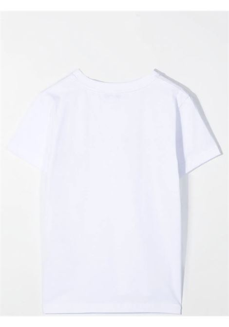 T-SHIRT CON STAMPA GIVENCHY KIDS | H2524510B