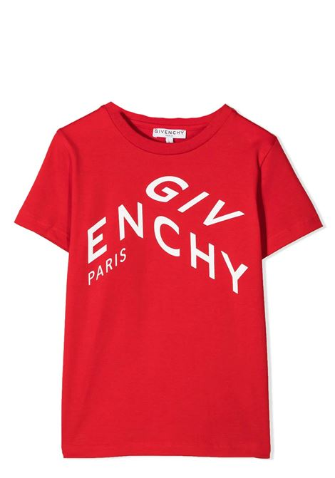 T-SHIRT WITH PRINT GIVENCHY KIDS | T-shirt | H25245991