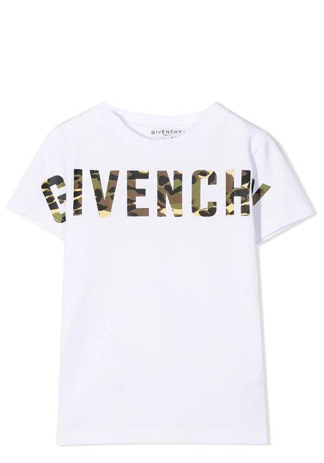 T-SHIRT WITH PRINT GIVENCHY KIDS | T-shirt | H2524810B