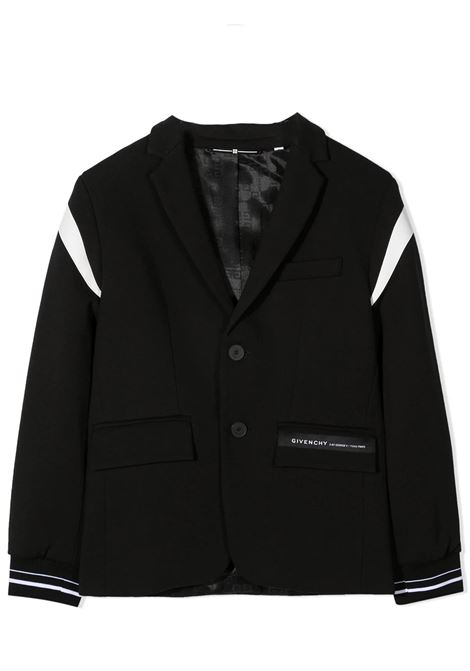 BLAZER WITH APPLICATION GIVENCHY KIDS | Jackets | H2607609B