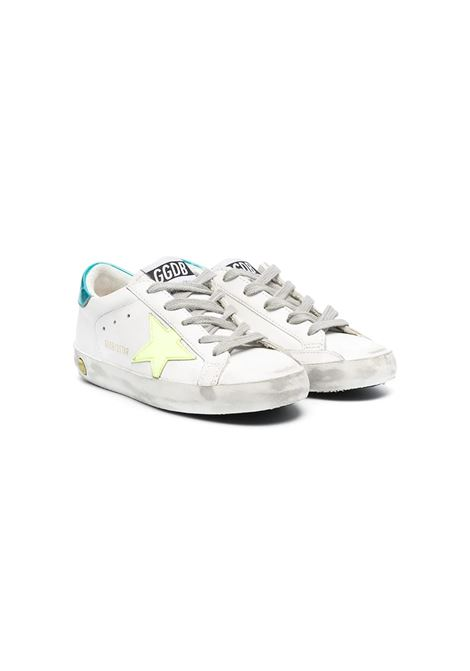 YELLOW RETRO TURQUOISE STAR SNEAKERS GOLDEN GOOSE KIDS | Sneakers | GTF00101 F00117510521